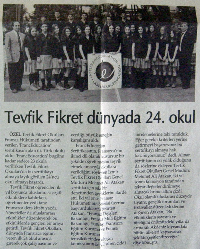 9 Eylül Gazetesi 25 Mayıs 2013