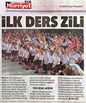 Hürriyet Gazetesi 10 eylül 2015
